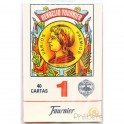 40 Cartes Espagnoles Fournier rouge