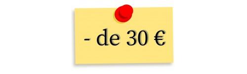 Moins de 30€