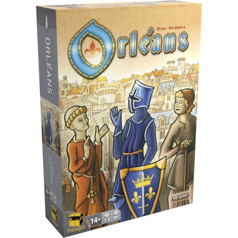 Orleans Nouvelle edition (1-5 joueurs)  FR Matagot DLP Games