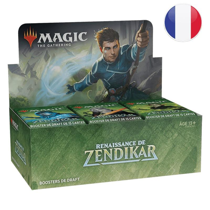 Magic Boite de 36 Booster Draft La Renaissance de Zendikar FR MTG The gathering
