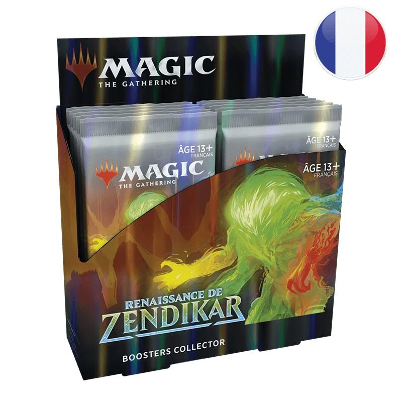 Magic Boite de 12 boosters collectors La Renaissance de Zendikar FR MTG The gathering