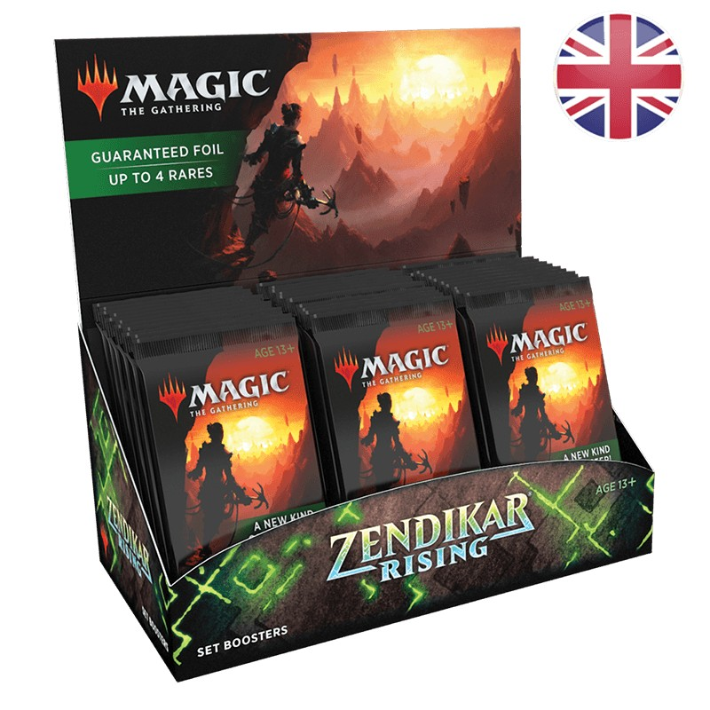 Magic Boite de 30 Booster d'Extension La Renaissance de Zendikar EN MTG The gathering