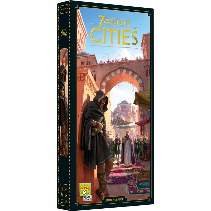 7 Wonders (Nouvelle Édition) Extension Cities FR Repos Prod