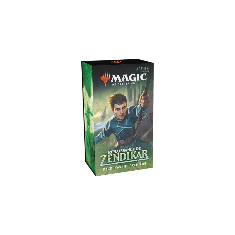 Magic Pack d'Avant premiere Renaissance de Zendikar FR MTG The gathering