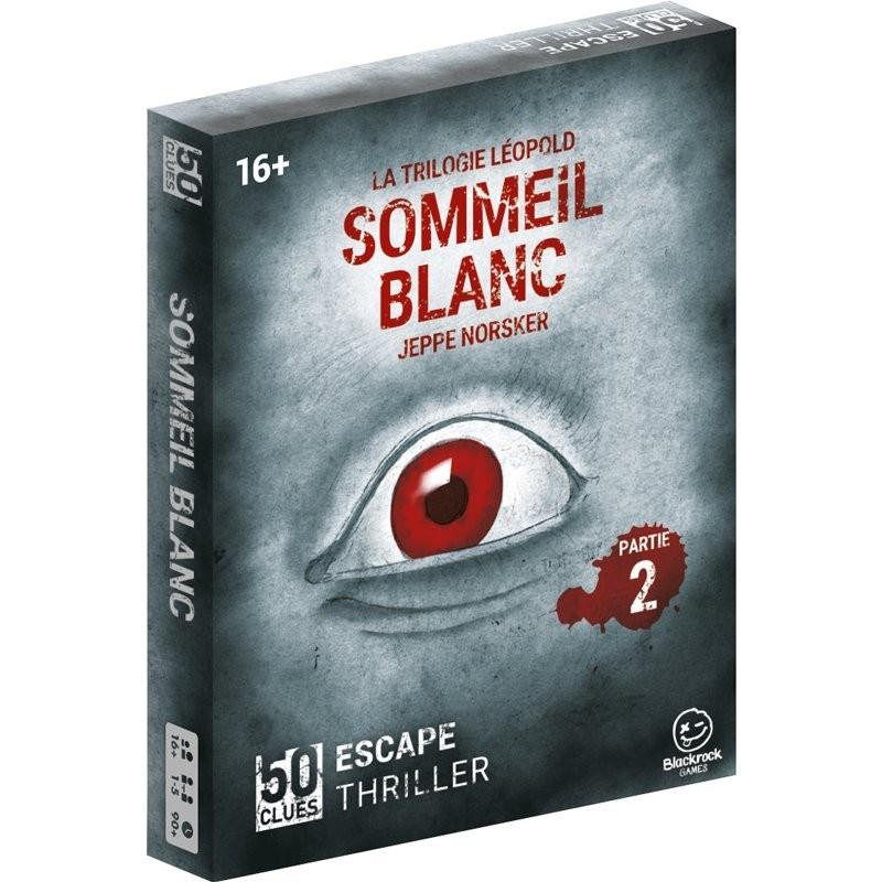 50 Clues Sommeil Blanc FR Blackrock Games