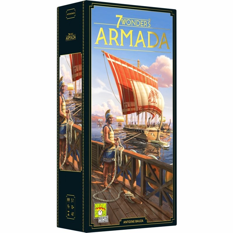 7 Wonders (Nouvelle Édition) Extension Armada FR Repos Prod