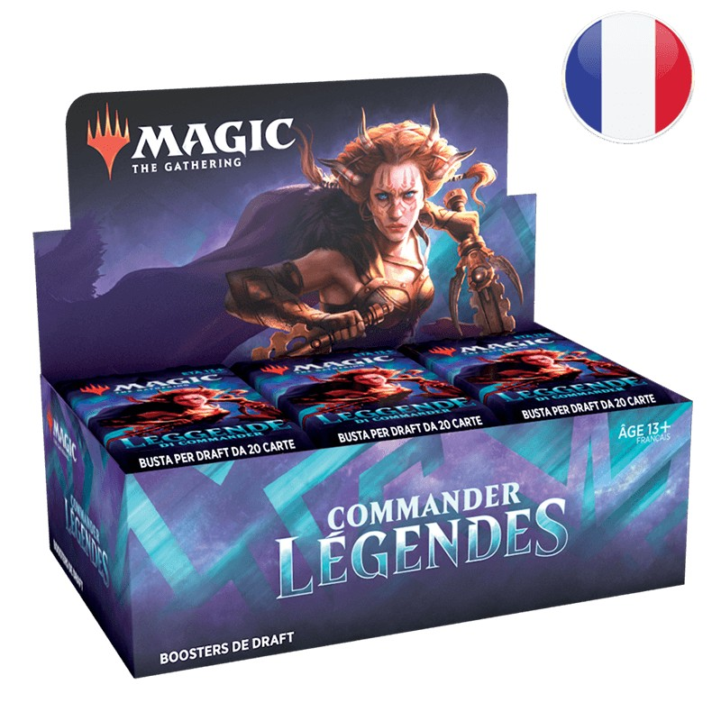 Magic Boite de 24 Booster Commander Légendes FR MTG The gathering