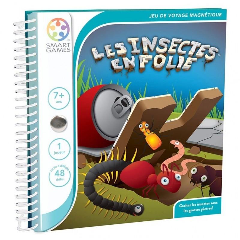 Les Insectes en Folie Livre Fr smart games