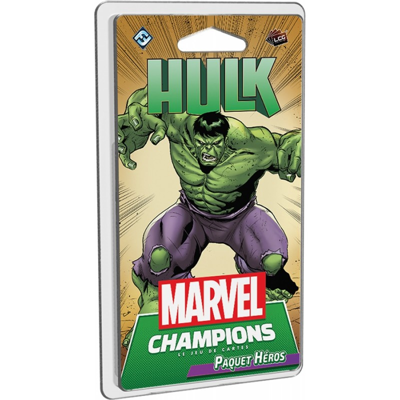 Marvel Champions Extension : Hulk FR FFG