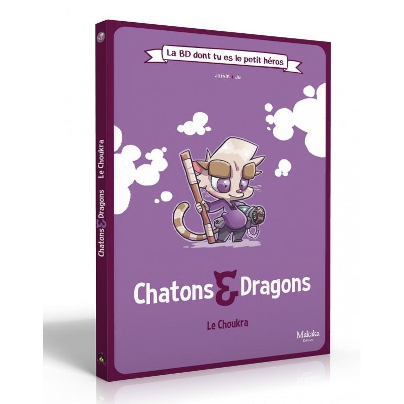 BD Chatons et Dragons La BD dont tu es le petit héros FR Makaka Editions
