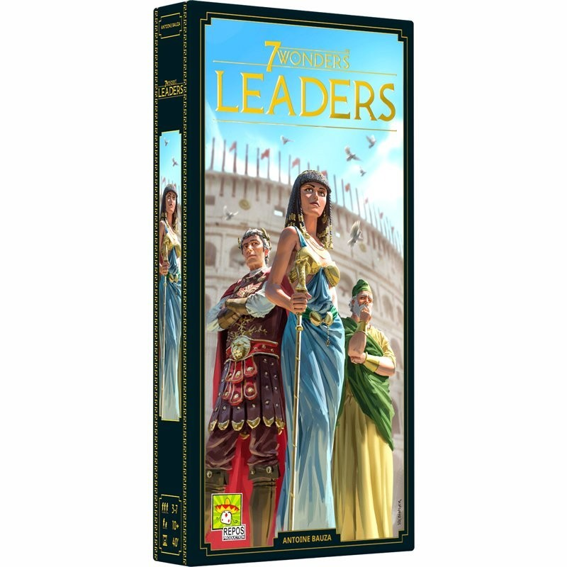 7 Wonders Edition 2020 Extension Leaders FR Repro Production