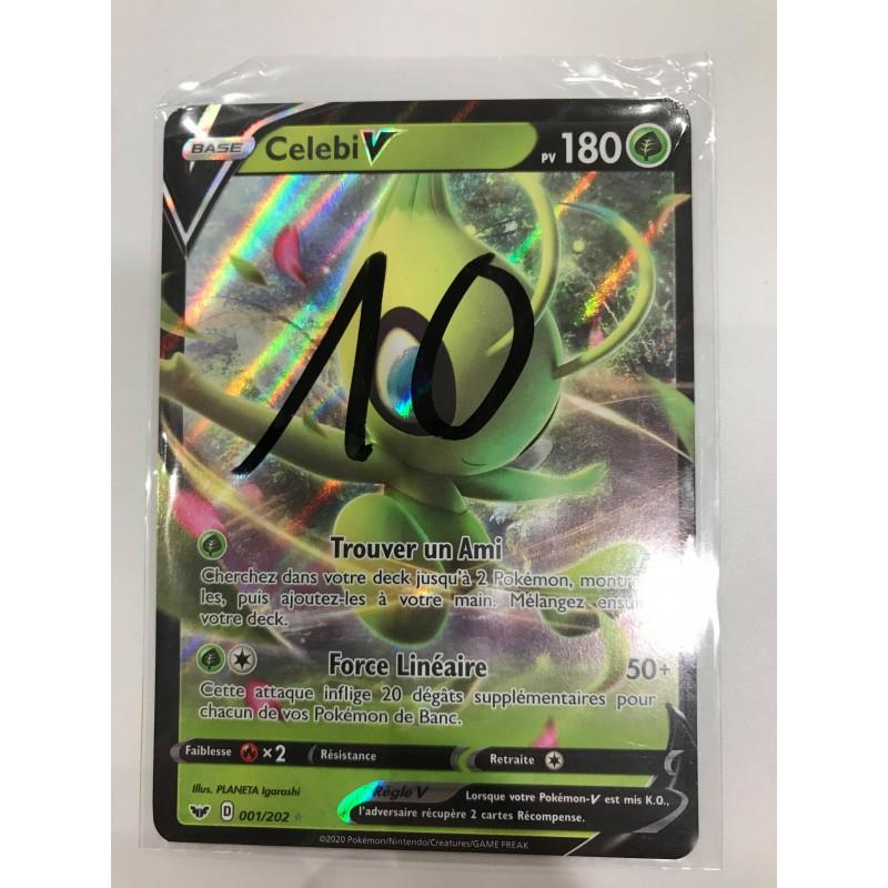 Carte Pokemon CelebiV Pv180 001/202
