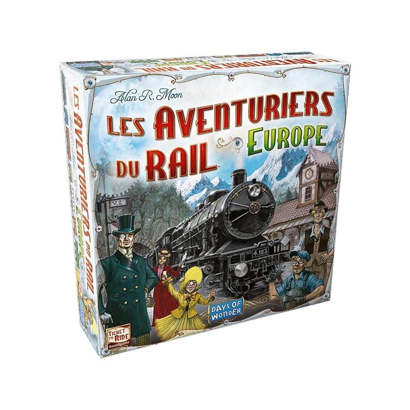 Les Aventuriers du Rail Europe VF Jeu