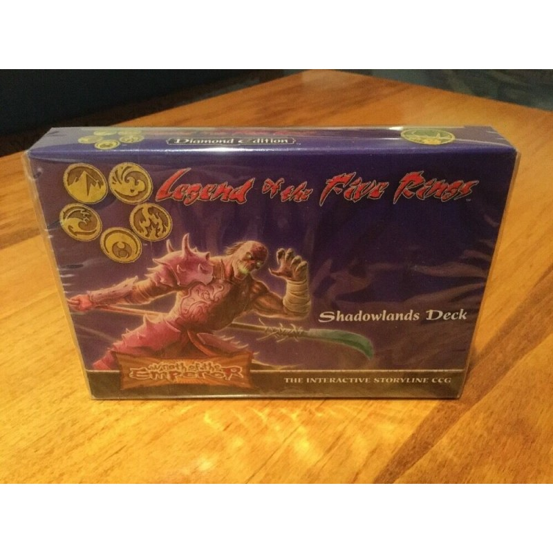Legend of the Five Rings CCG L5R Wrath Of the Emperor Shadowlands Deck VO