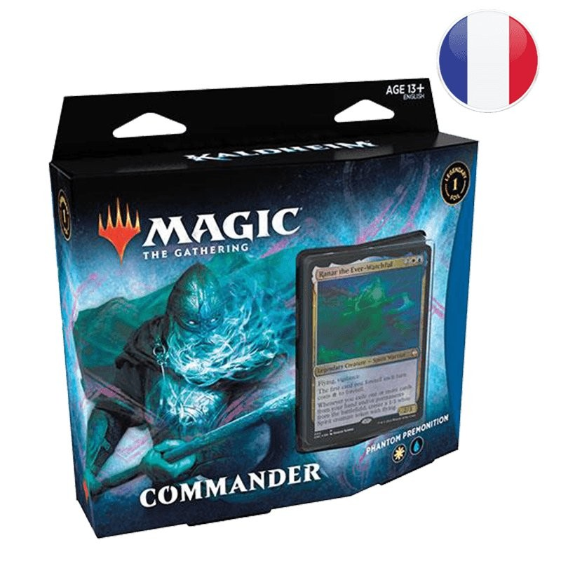 Magic Kaldheim Decks Commander Phantom Premonition FR MTG The gathering