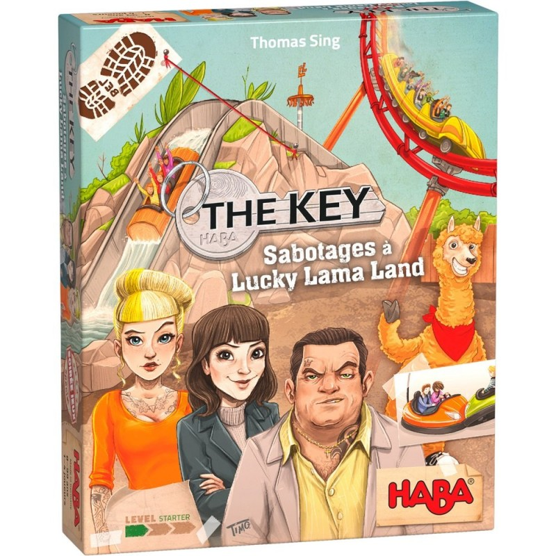 The Key Sabotages à Lucky Lama Land FR Haba