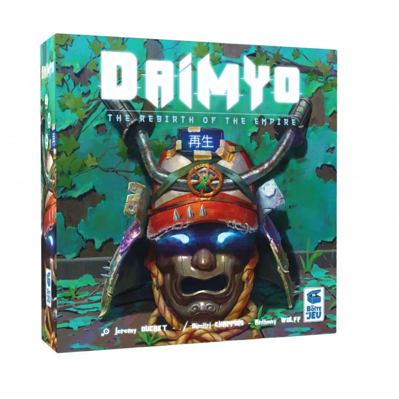 Daimyo La renaissance de l'empire FR La boite de jeu
