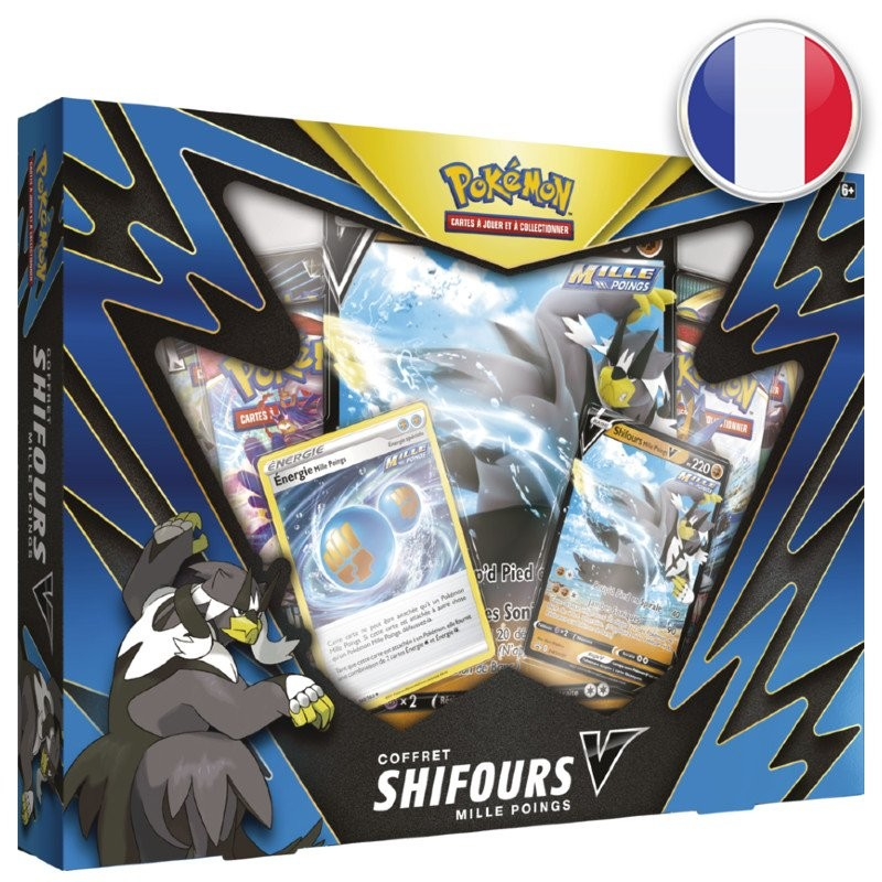 Pokemon Styles de Combat Coffret Shifours Mille Poings V FR The Pokemon Company