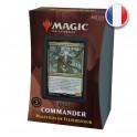 Magic Deck Commander 2021 Maléfices de Flestrefleur Strixhaven FR Wizards