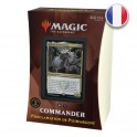 Magic Deck Commander 2021 Proclamation de Plumargent Strixhaven FR Wizards