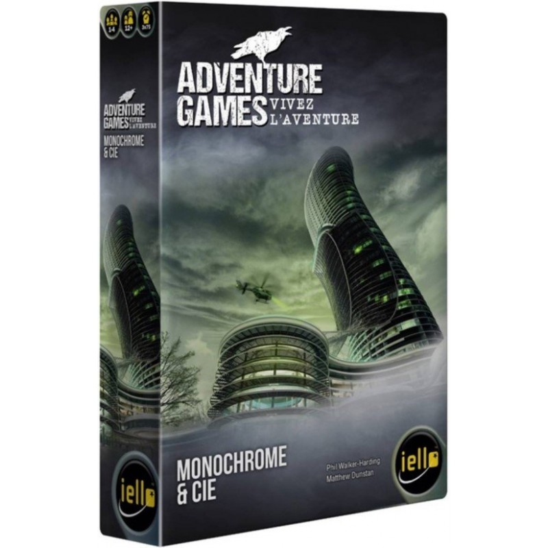 Adventure Games - Monochrome Inc FR Iello