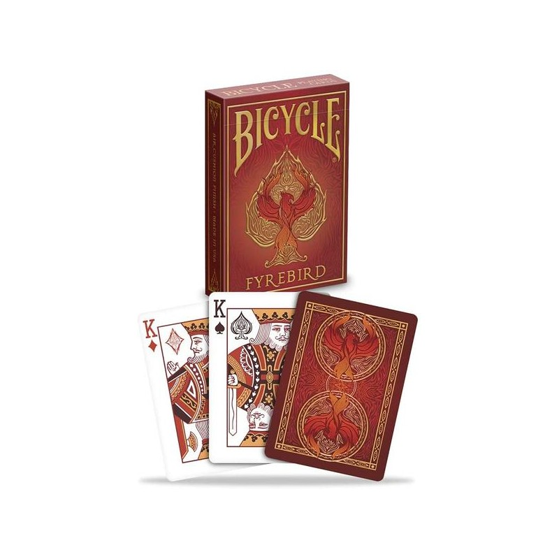 Bicycle Playing cards Fyrebird x54 cartes