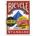 Bicycle Magie Stripper Deck Magie Bleu / Rouge FR