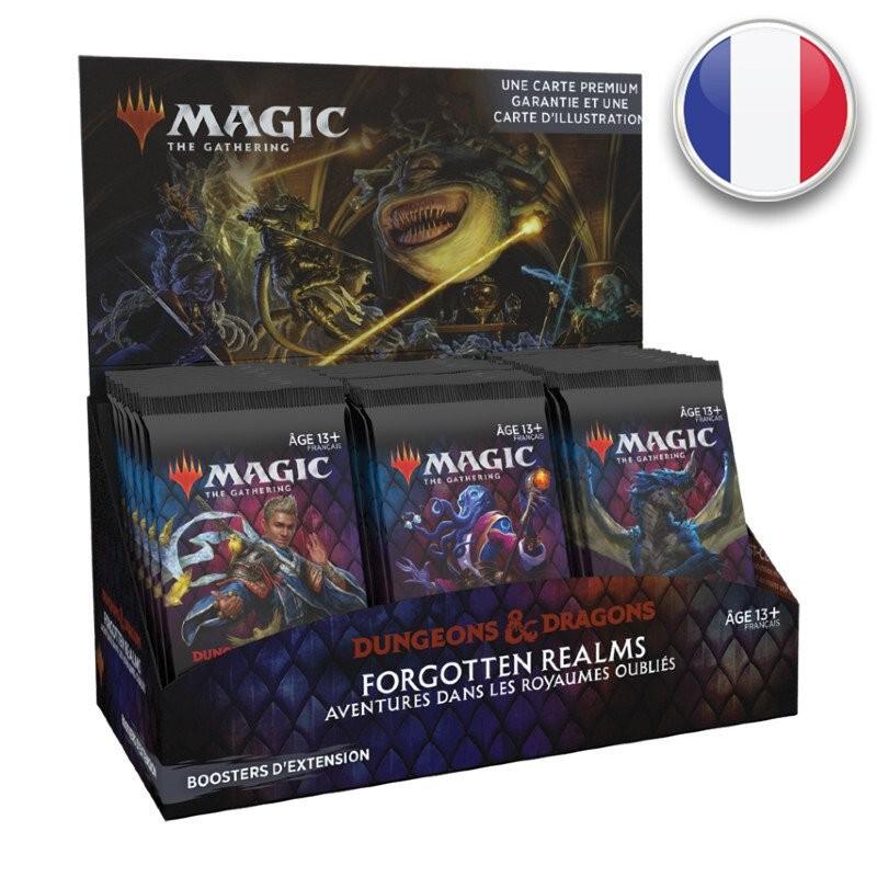 Magic Boite de 30 boosters d'extension D&D Aventures dans les Royaumes Oubliés FR MTG The gathering