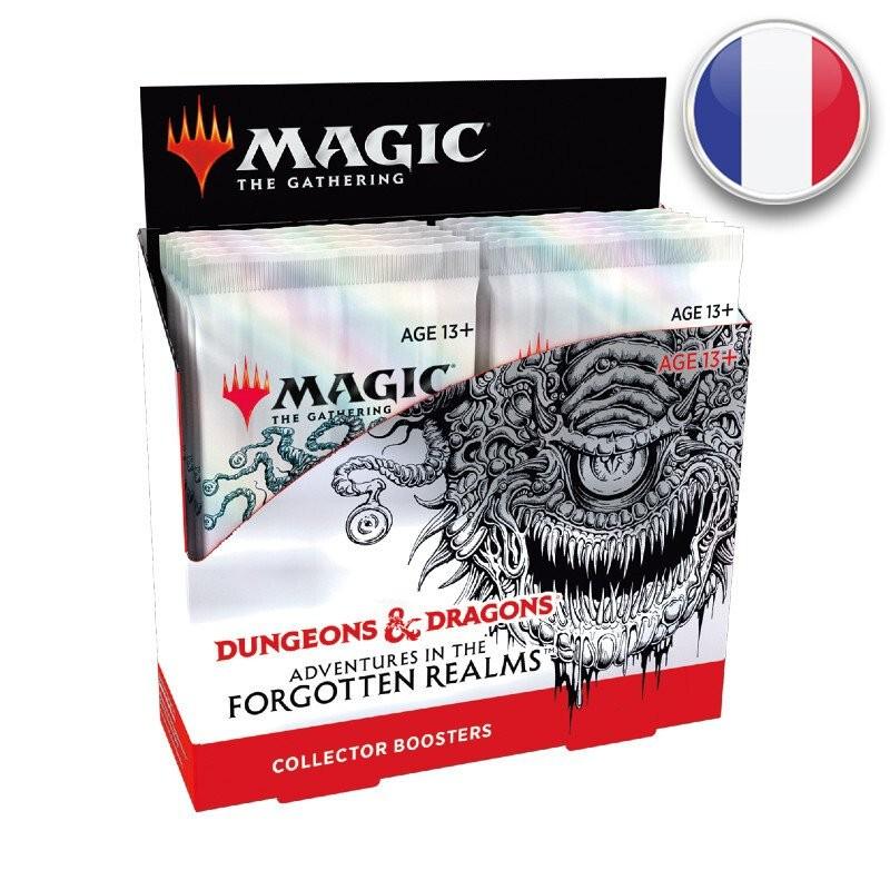 Magic Boite de 12 boosters collectors D&D Aventures dans les Royaumes Oubliés FR MTG The gathering