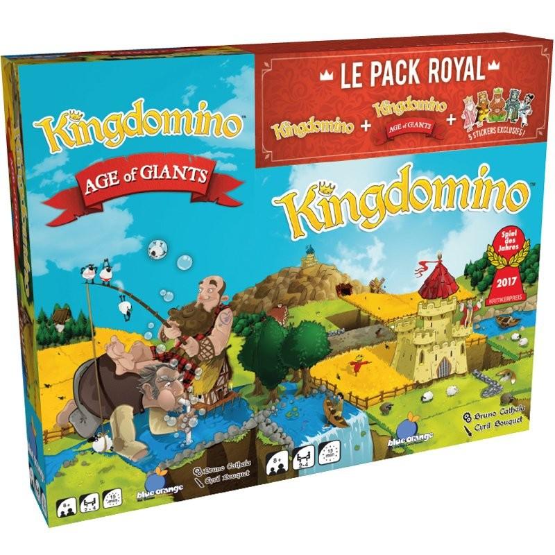 KingDomino + Extension Age Of Giants Le Pack Royal FR BlueOrange