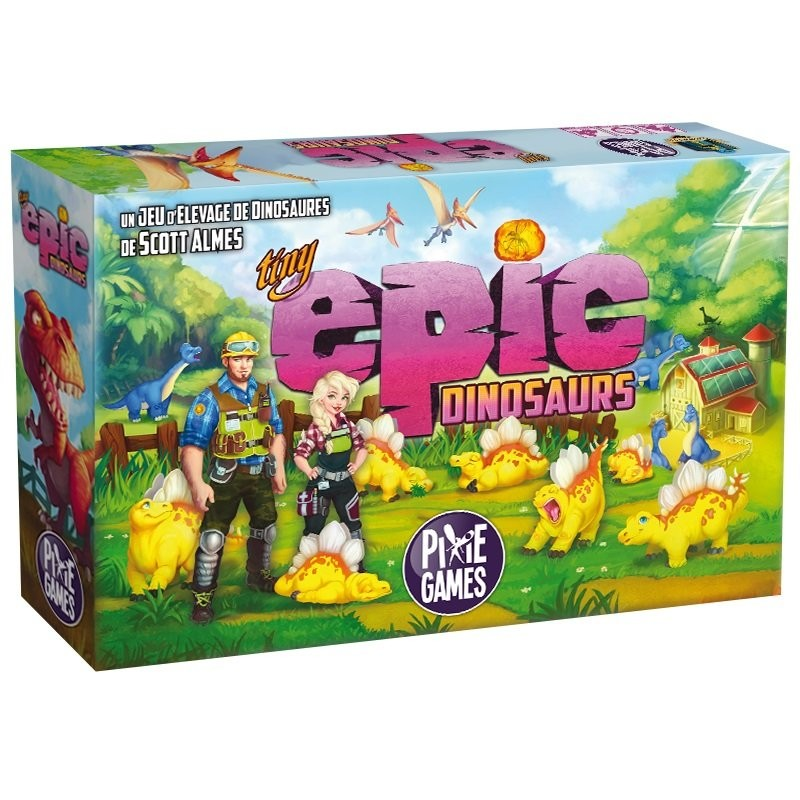 Tiny Epic Dinosaurs FR Gamelyn Games