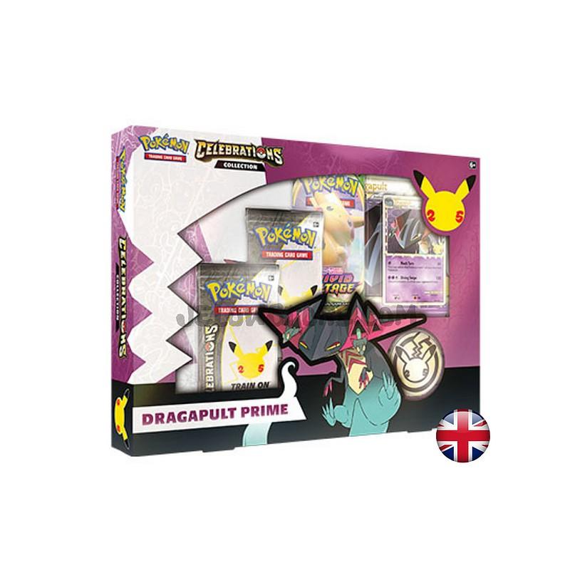 Pokemon Collection Celebrations: Dragapult Prime Anglais
