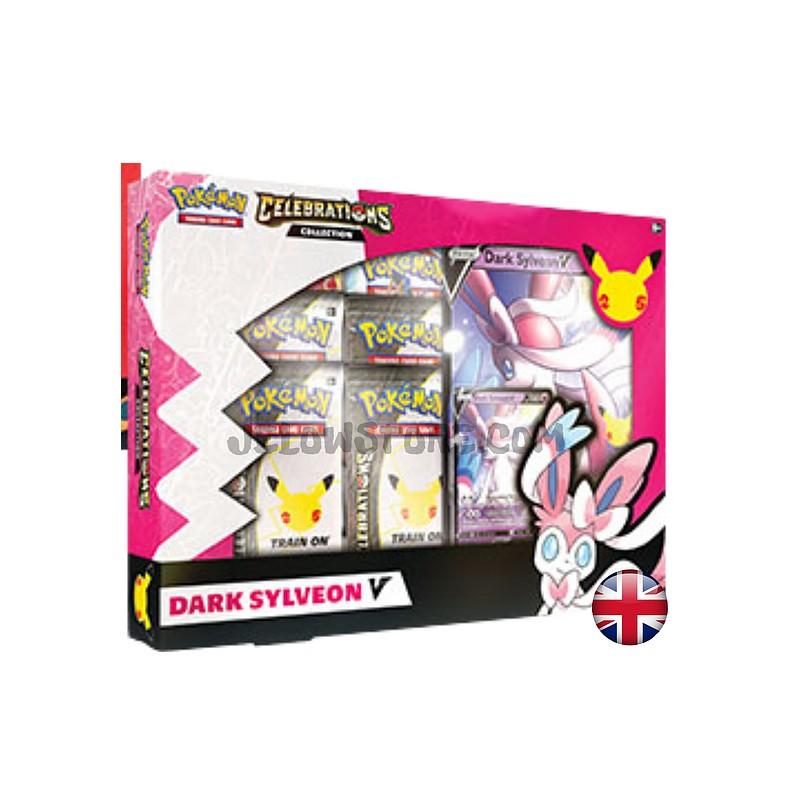 Pokemon Collection Celebrations: Dark Sylveon V Anglais