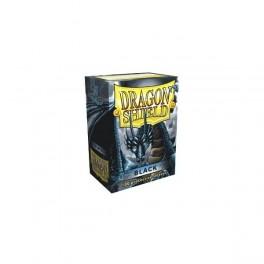 Protege Carte Dragon shield black *100 66x91mm Deck Protector
