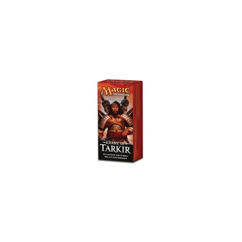 Magic Khan of Tarkir Even Deck blanc/noir Conquering Hordes VO