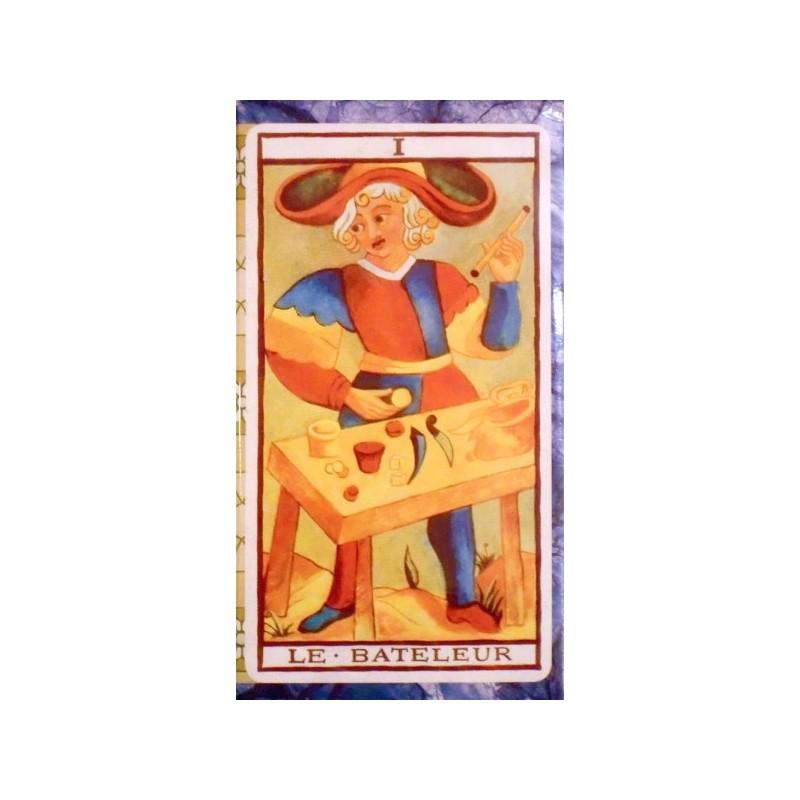Le Tarot de Marseille Fournier 78 Cartes a Jouer en couleur