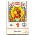 40 Cartes Espagnoles Fournier rouge