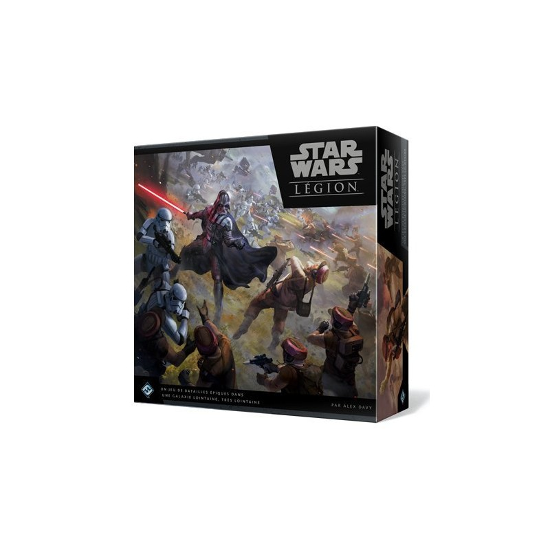 Star Wars legion VF Jeu Edge FFG