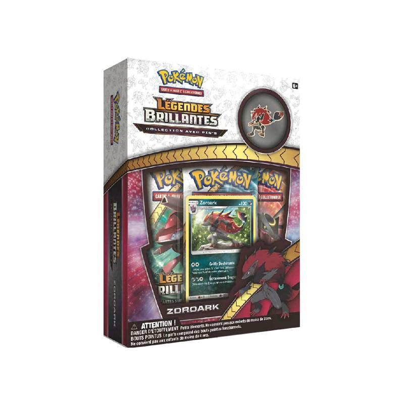 Pokemon Coffret : Collection avec pin's Légendes Brillantes – Zoroark
