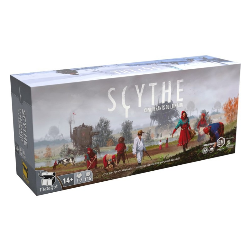 Scythe Extension : Conquérants du Lointain FR