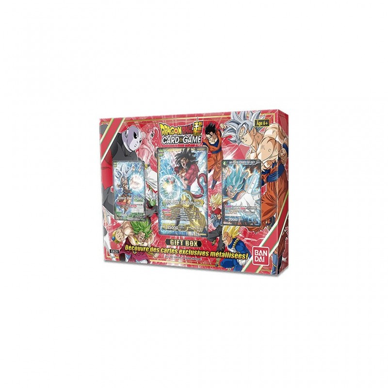 Dragon Ball Card game Super - Gift Box 2018 FR