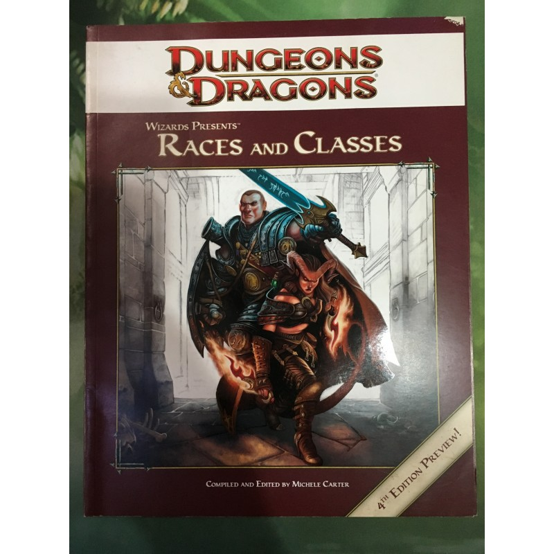 D&D - Races and Classes - Making of Dungeons and Dragons - Anglais