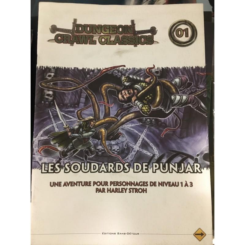 D&D - Les Soulards de Punjar - Dungeon Crawl Classiscs - FR VF