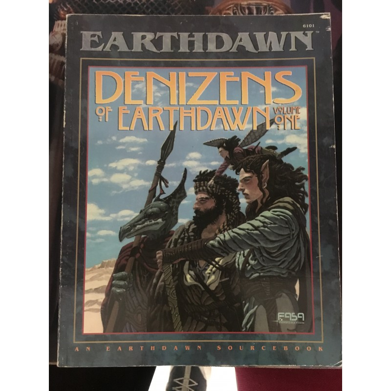 EarthDawn - Denizens of EarthDawn Vol.1 - JDR - Anglais