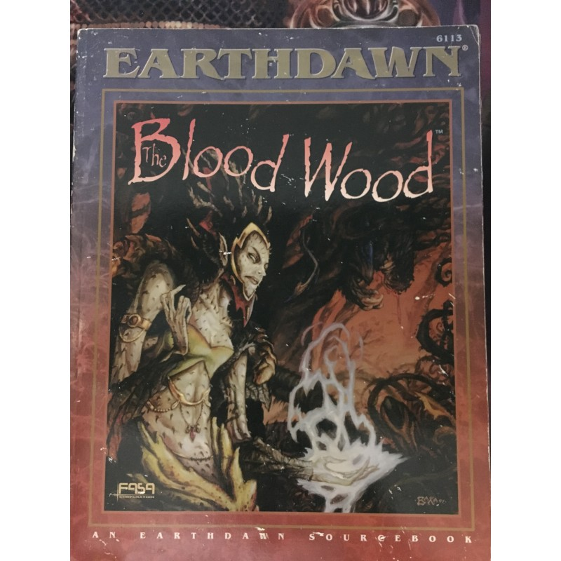 EarthDawn - Blood Wood - JDR - Anglais