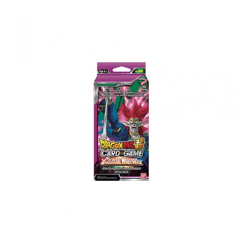 Dragon Ball super card game Special pack 4 FR bandai