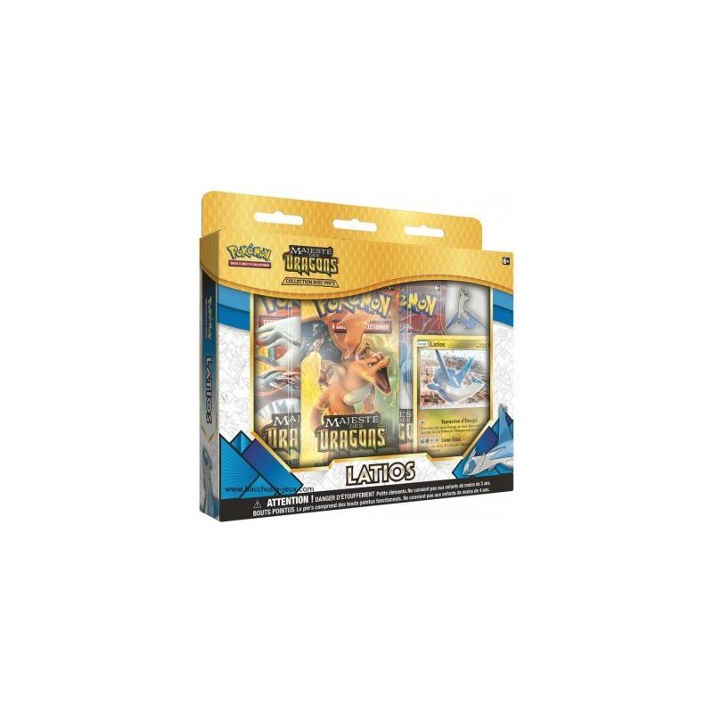 Pokémon Coffret 3 Booster 7.5 + pins Latios FR