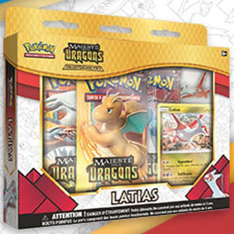 Pokémon Coffret 3 Booster 7.5 + pins Latias FR