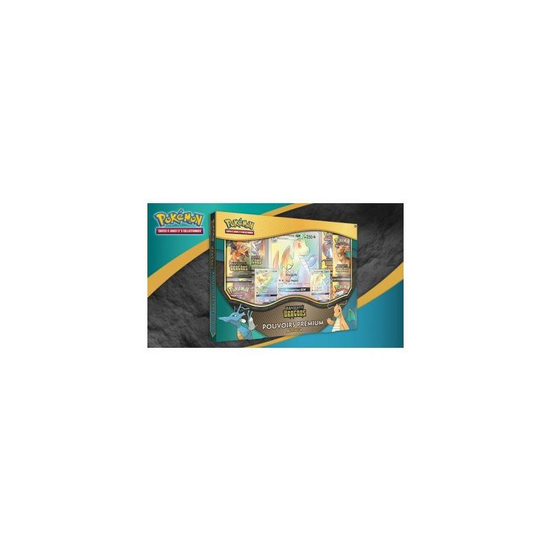 Pokémon Coffret 7.5 Collection Pouvoirs Premium Dracolosse Hyporoi GX FR