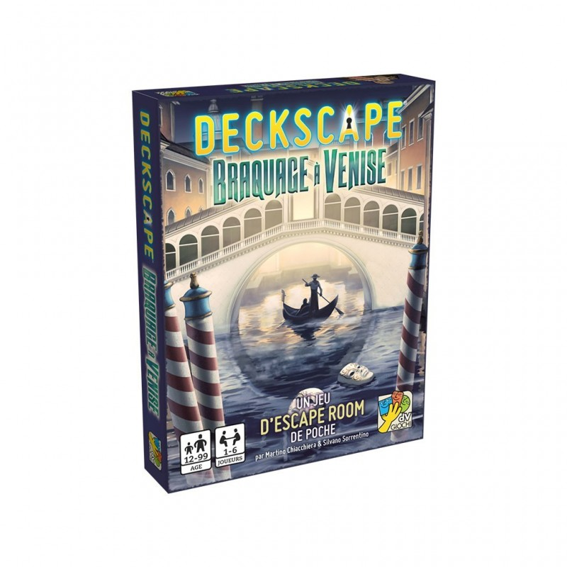 Deckscape Braquage a Venise FR Dv Giochi